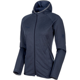 Mammut Nair ML Hooded Jacket Women peacoat melange